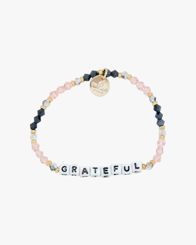 Grateful & Love Beaded Bracelet Set
