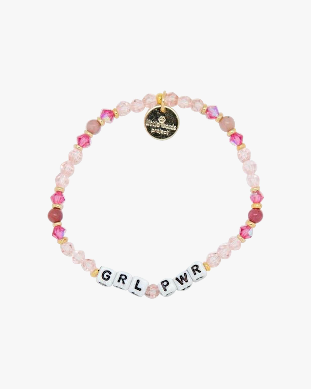 GRL PWR & Fearless Beaded Bracelet Set