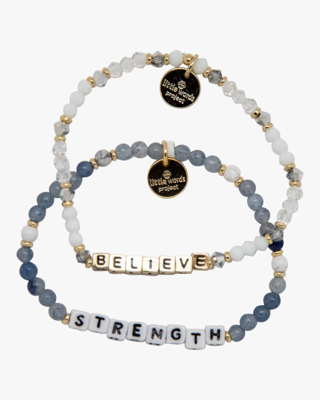 Strength & Believe Beaded Bracelet Set