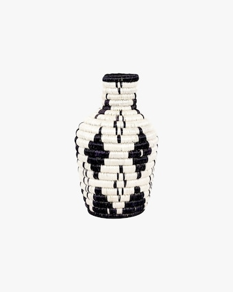 Decorative Diamond Woven Vase