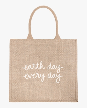 Earth Day Everyday Large Shopping Tote