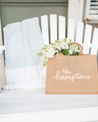 The Hamptons Small Shopping Tote