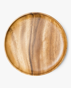 Large Acacia Wooden Plate