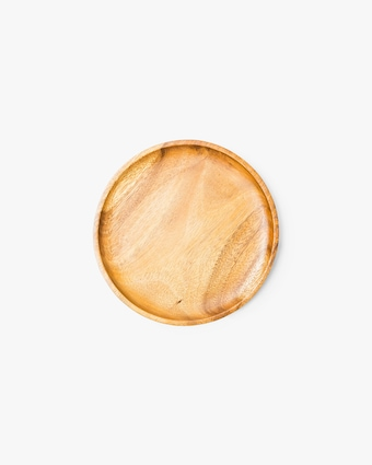 Small Acacia Wooden Plate