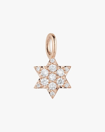All Diamond Mini Star Charm