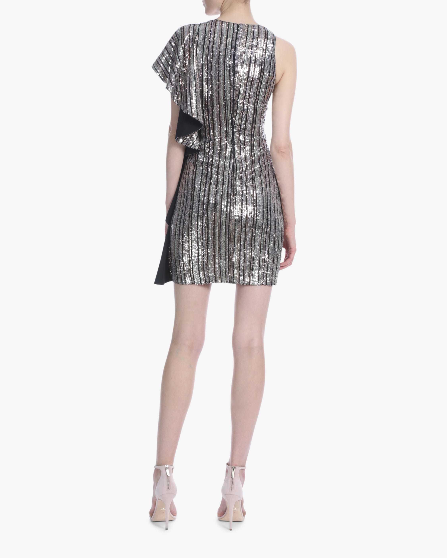 One33 Social Ruffle-Sleeve Sequin Mini Dress 3