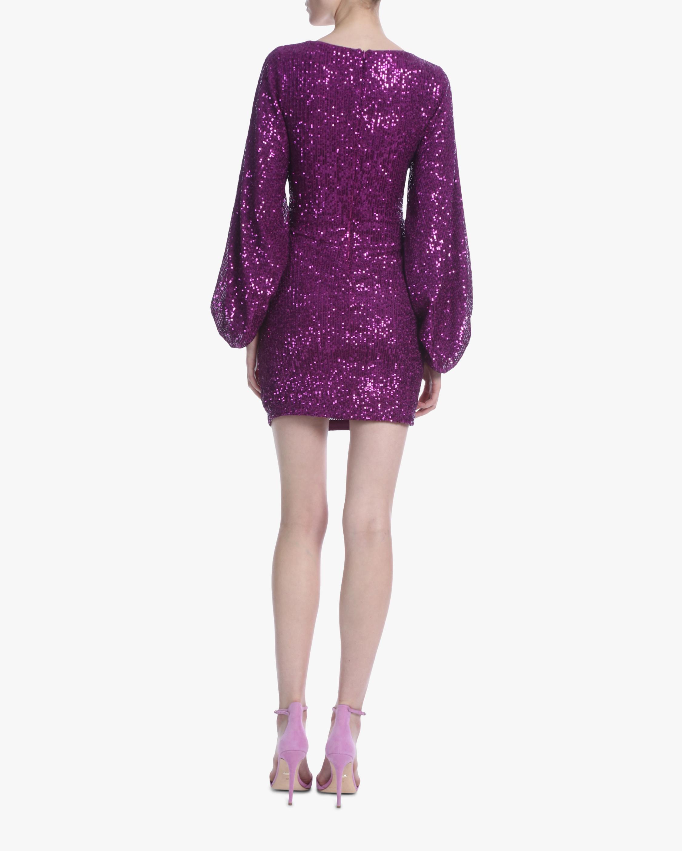 One33 Social Puffed-Sleeve Sequin Mini Dress 4