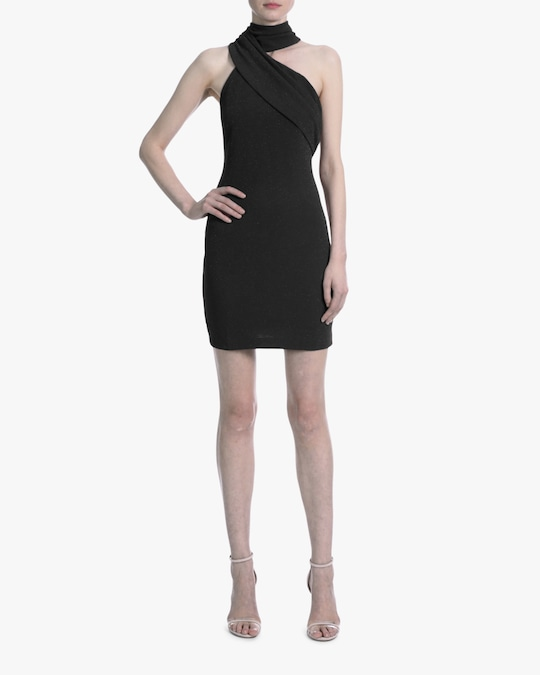 One33 Social Front Drape Cocktail Dress 1