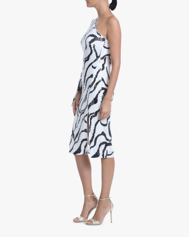 One33 Social Sequin One-Shoulder Dress 1