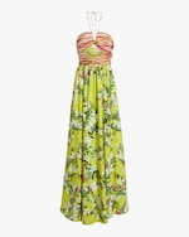 One33 Social Front-Twist Maxi Dress 0