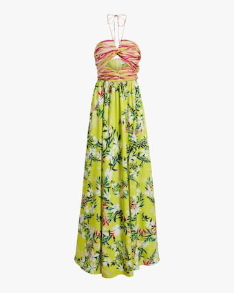 One33 Social Front-Twist Maxi Dress 1