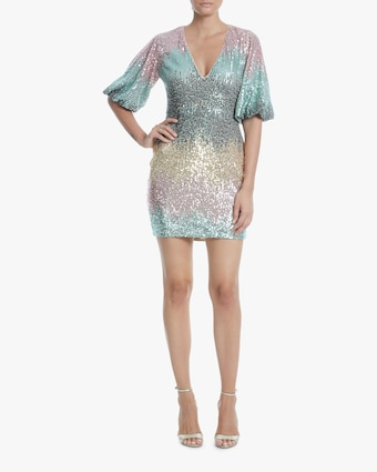One33 Social Ombré Sequin Cocktail Dress 2