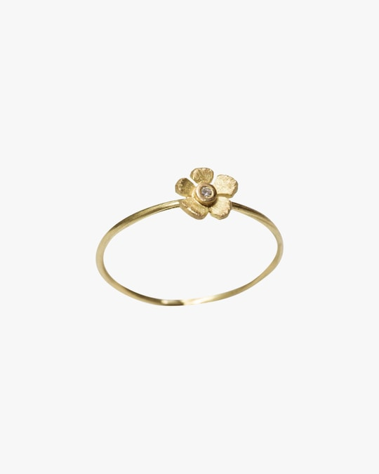 Lene Vibe Flower Diamond Ring 0