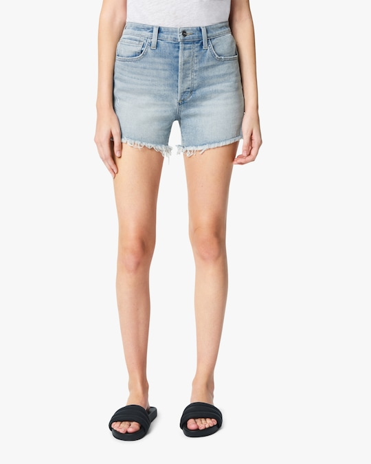 Joe's Jeans The Kinsley Frayed-Hem Shorts 1