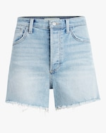 Joe's Jeans The Kinsley Frayed-Hem Shorts 0
