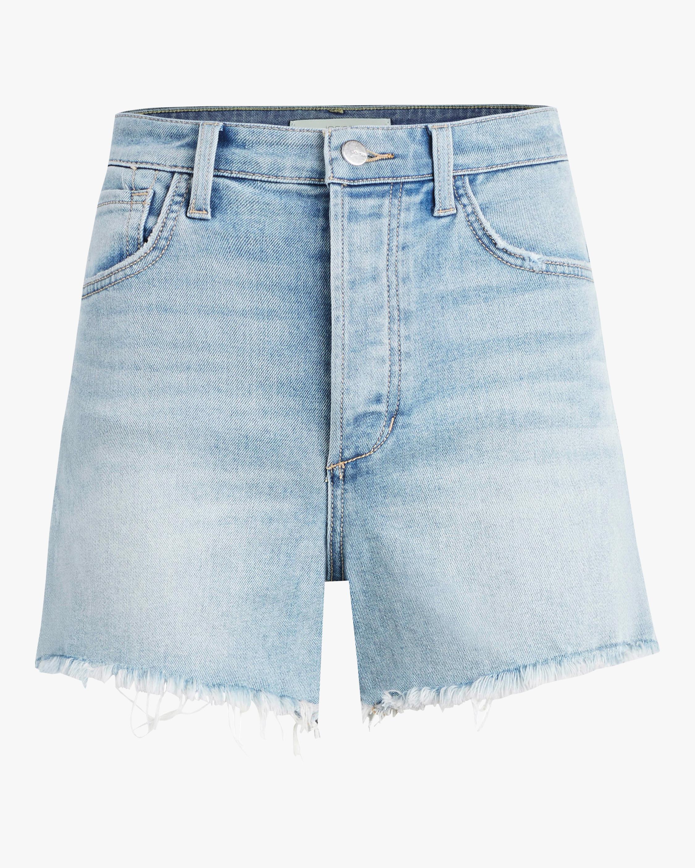 The Kinsley Frayed-Hem Shorts