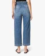 Joe's Jeans The Paperbag Wide-Leg Cropped Jeans 2
