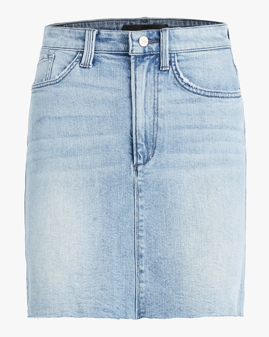 Joe's Jeans The High-Rise Mini Skirt 0