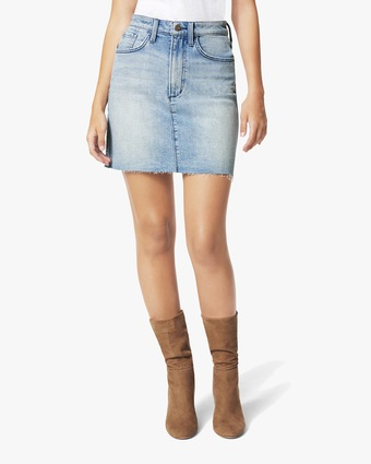 Joe's Jeans The High-Rise Mini Skirt 2