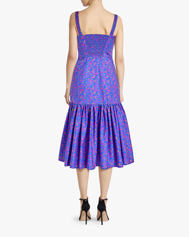 Tanya Taylor Calle Midi Dress 2