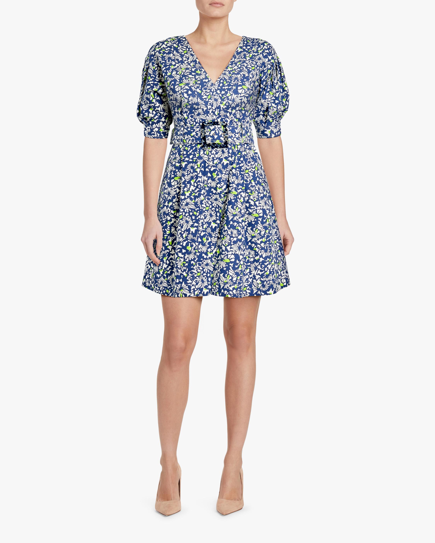 Tanya Taylor Coral Fit & Flare Dress 2