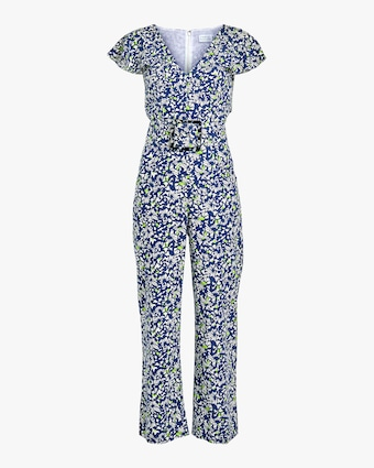 Tanya Taylor Avalon Belted Jumpsuit 1
