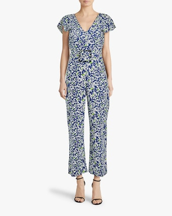 Tanya Taylor Avalon Belted Jumpsuit 2