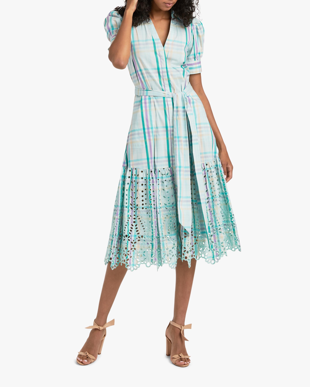 Tanya Taylor Fern Shirt Dress 1