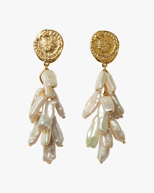 Lizzie Fortunato Roma Drop Earrings 0