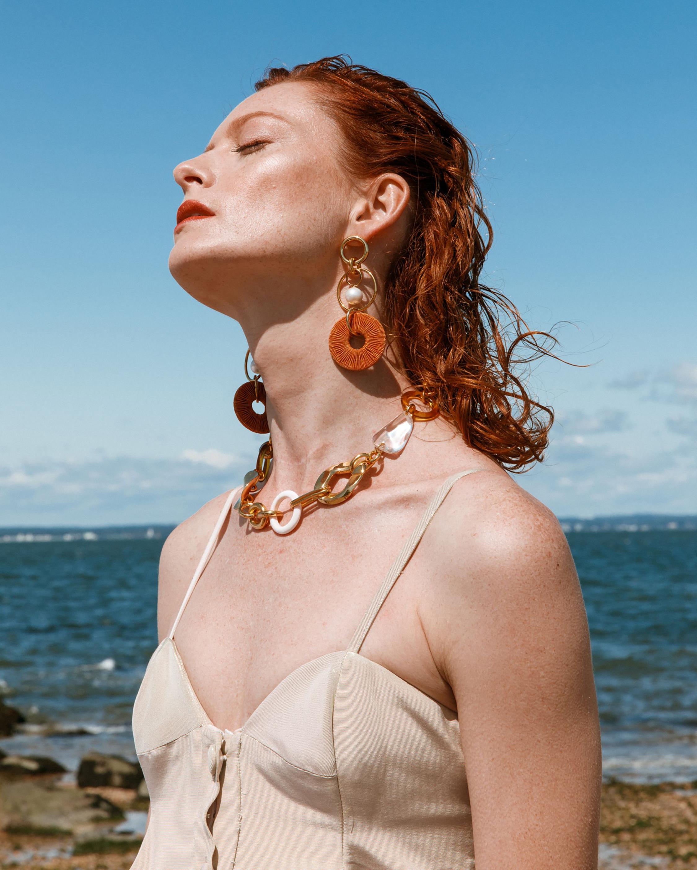 Lizzie Fortunato Santa Ana Drop Earrings 1