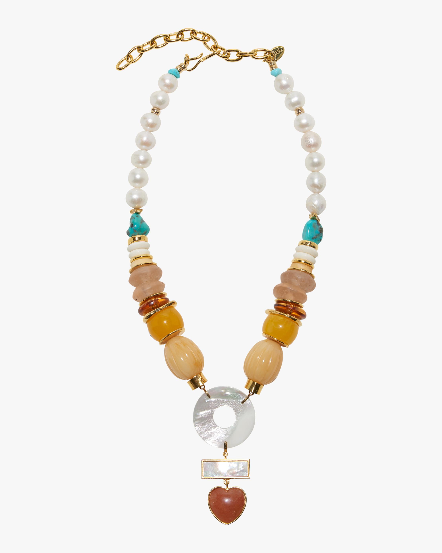 Lizzie Fortunato Capri Necklace 0