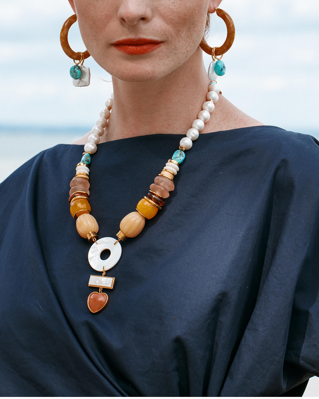 Lizzie Fortunato Capri Necklace 1