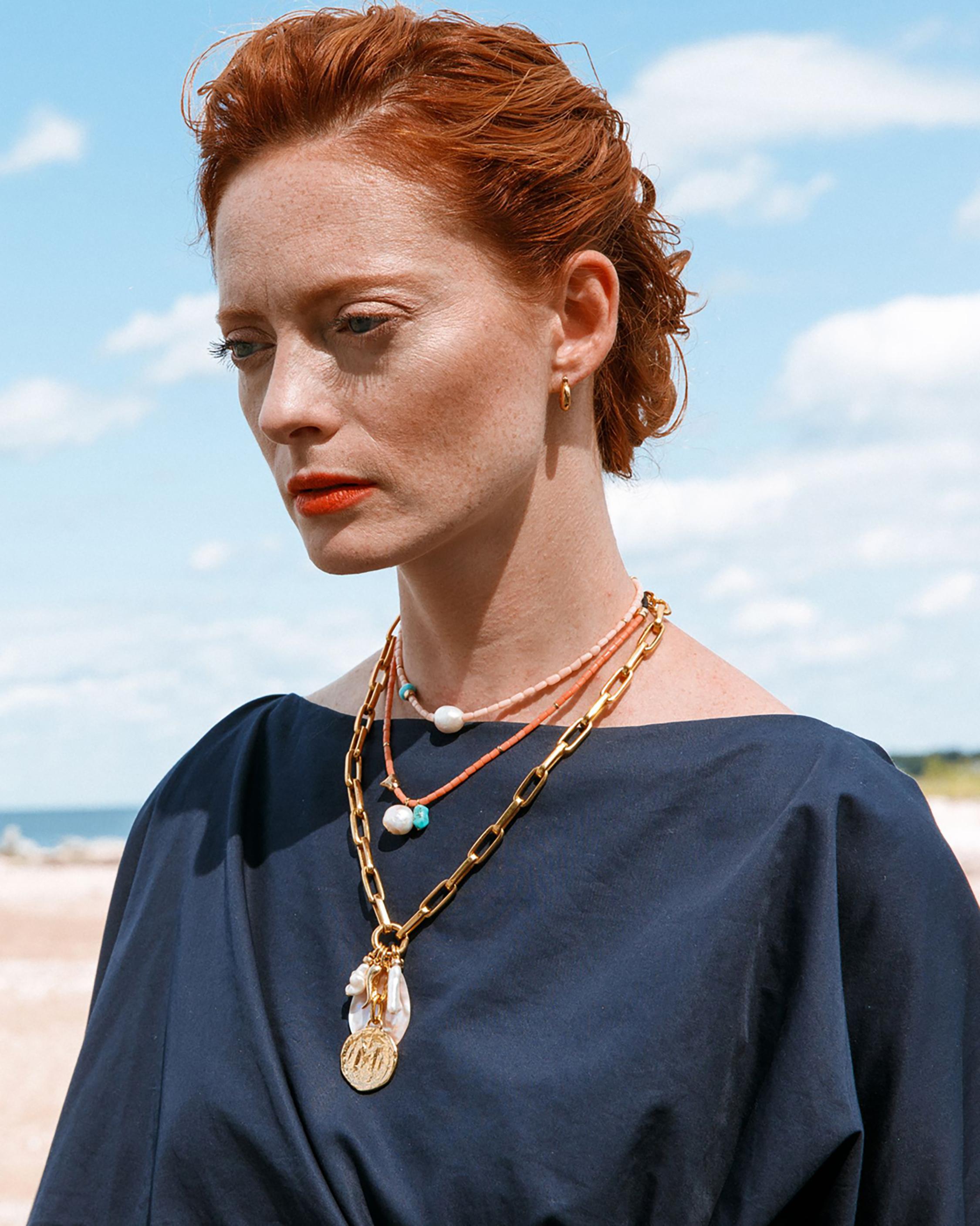 Lizzie Fortunato Shoreline Necklace 1