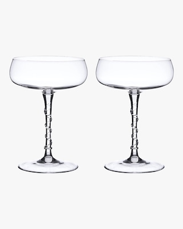 Juliska Amalia Champagne Coupe Set 2