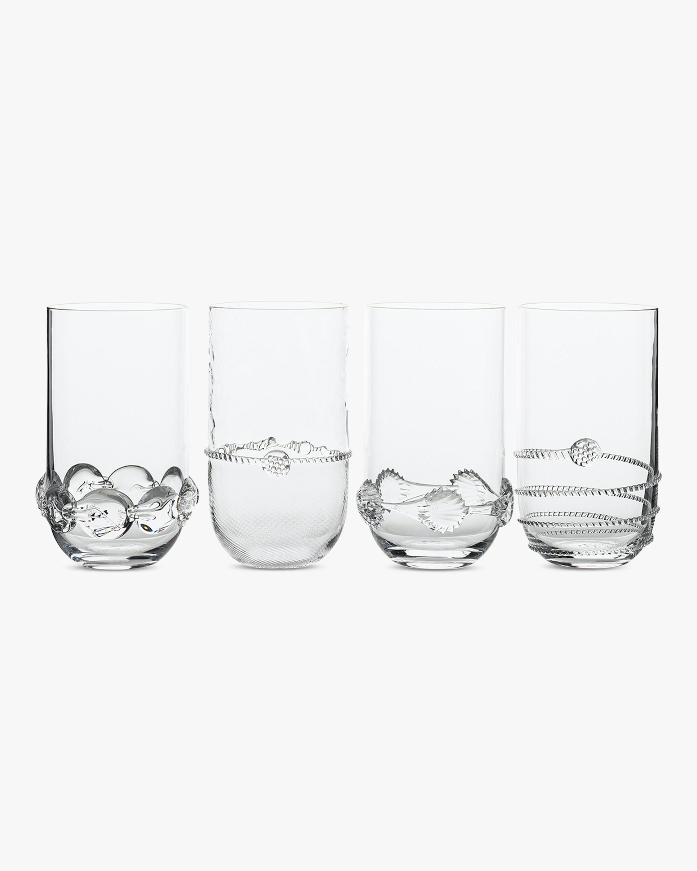 Juliska Heritage Collectors Large Highball Glass Set