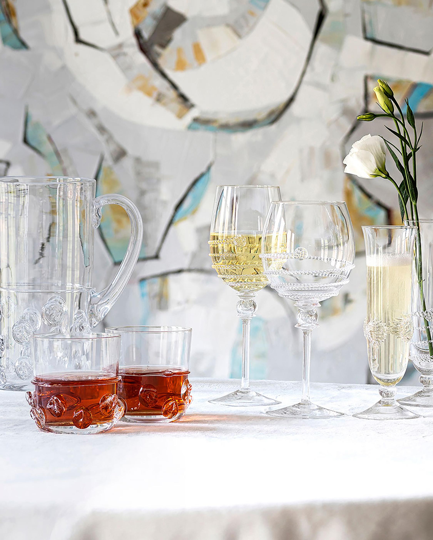 Juliska Heritage Collectors Champagne Flute Set