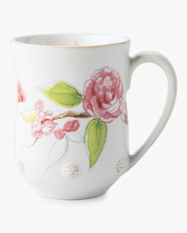 Juliska Berry & Thread Floral Sketch Camellia Mug 1