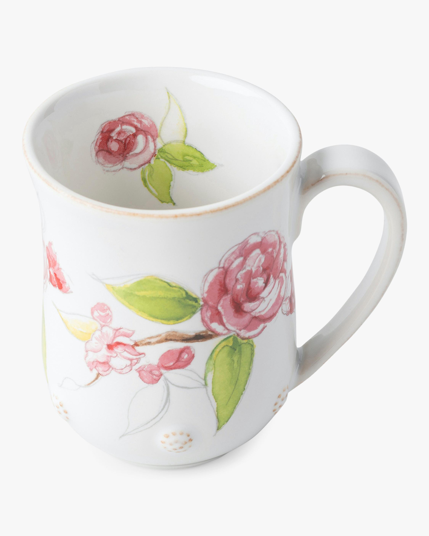 Berry & Thread Floral Sketch Camellia Mug