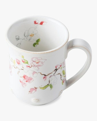 Juliska Berry & Thread Floral Sketch Cherry Blossom Mug 2