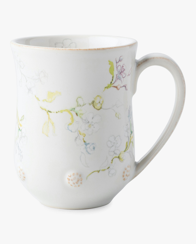 Juliska Berry & Thread Floral Sketch Jasmine Mug 1