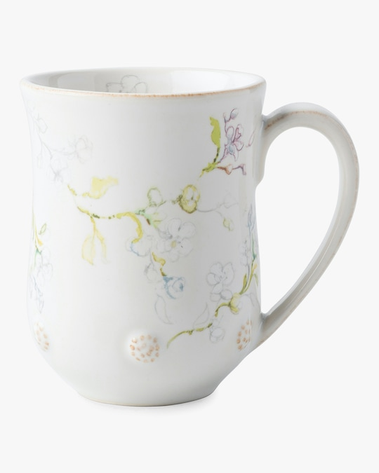 Juliska Berry & Thread Floral Sketch Jasmine Mug 0