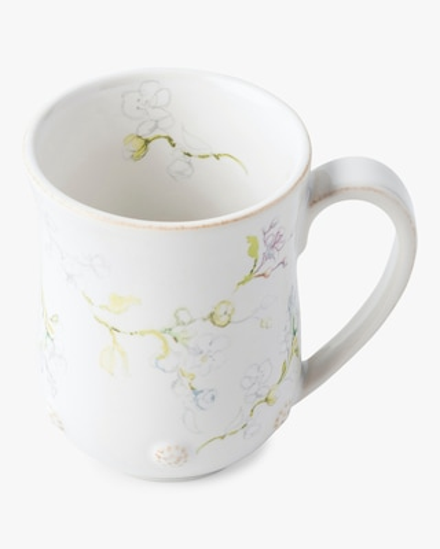 Juliska Berry & Thread Floral Sketch Jasmine Mug 2