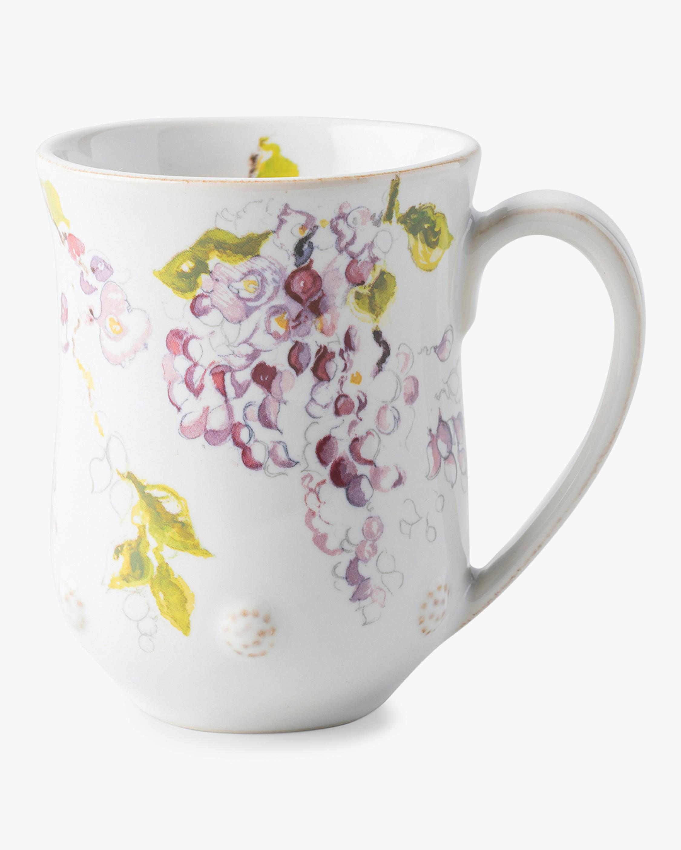 Berry & Thread Floral Sketch Wisteria Mug