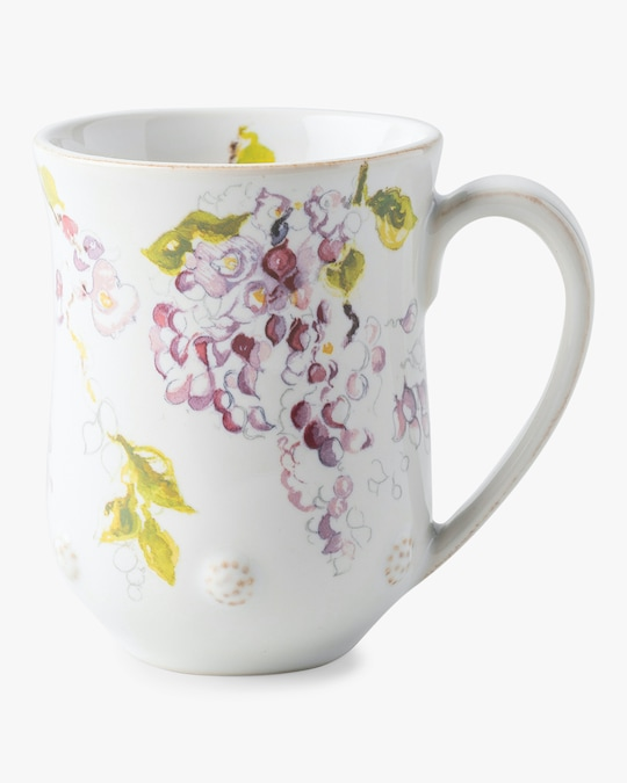 Juliska Berry & Thread Floral Sketch Wisteria Mug 0