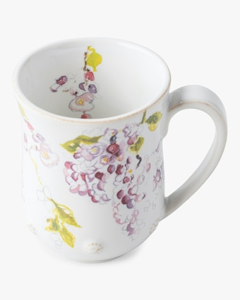 Juliska Berry & Thread Floral Sketch Wisteria Mug 2