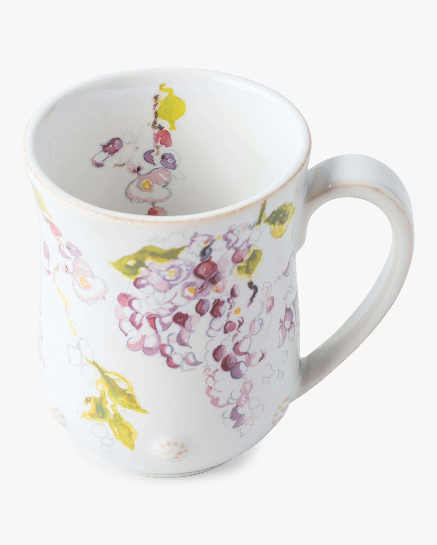 Juliska Berry & Thread Floral Sketch Wisteria Mug 1