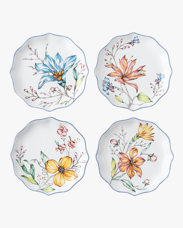 Floretta Tidbit Plate Set