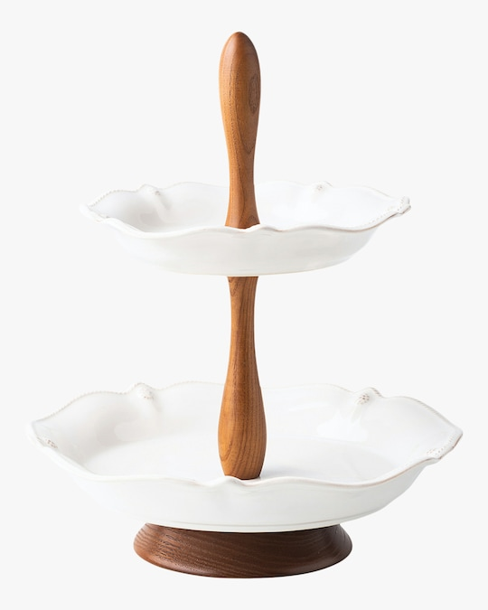 Juliska Berry & Thread Tiered Serving Stand 0