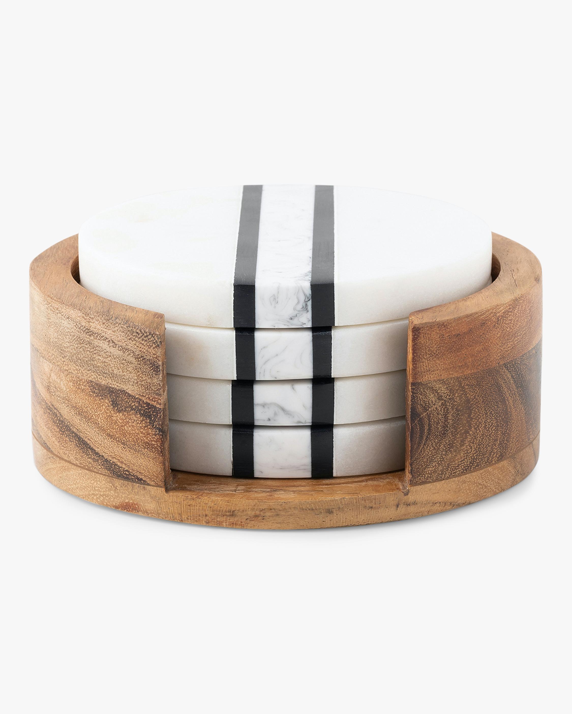 Stonewood Stripe Coaster Set