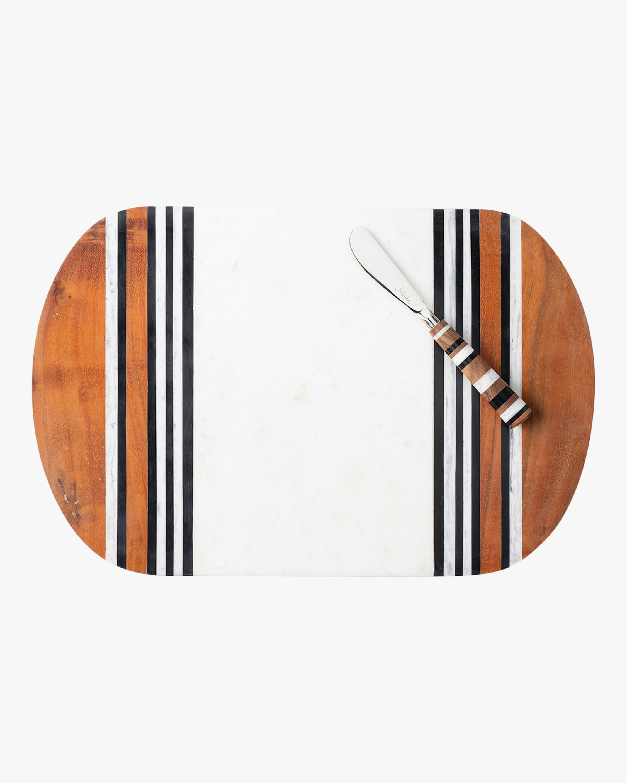 Juliska Stonewood Stripe Serving Board Set 1